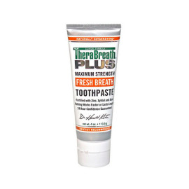 Therabreath plus toothpaste