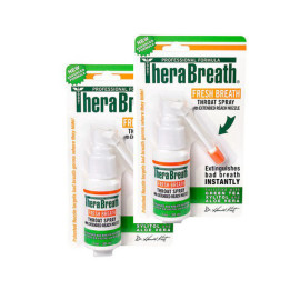 therabreath throat spray twin pack