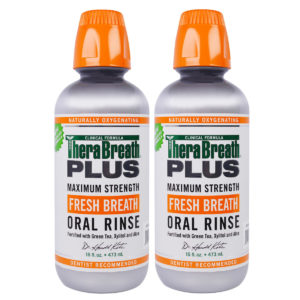 plus oral rinse twin pack