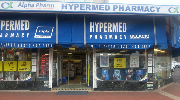 hypermed pharmacy greenpoint cape town