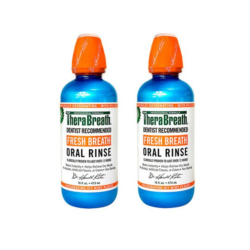 therabreath icy mint oral rinse saver